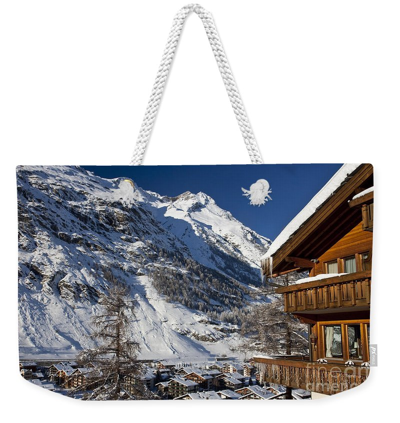 Zermatt Weekender Tote Bag featuring the photograph Zermatt by Brian Jannsen