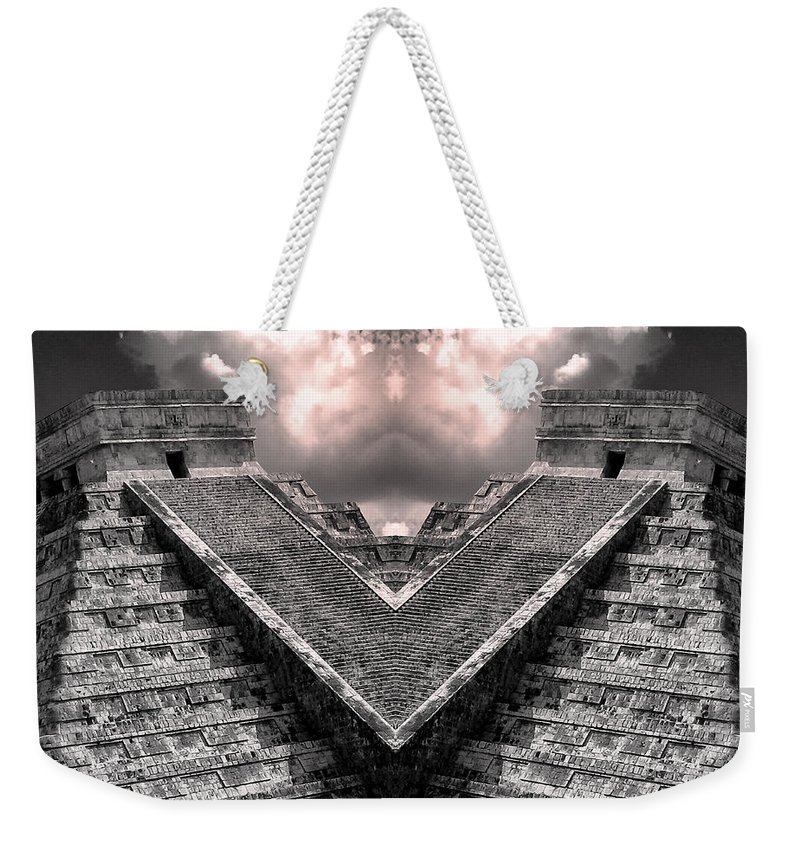 Zeus Weekender Tote Bag featuring the photograph Zeus by Dominic Piperata