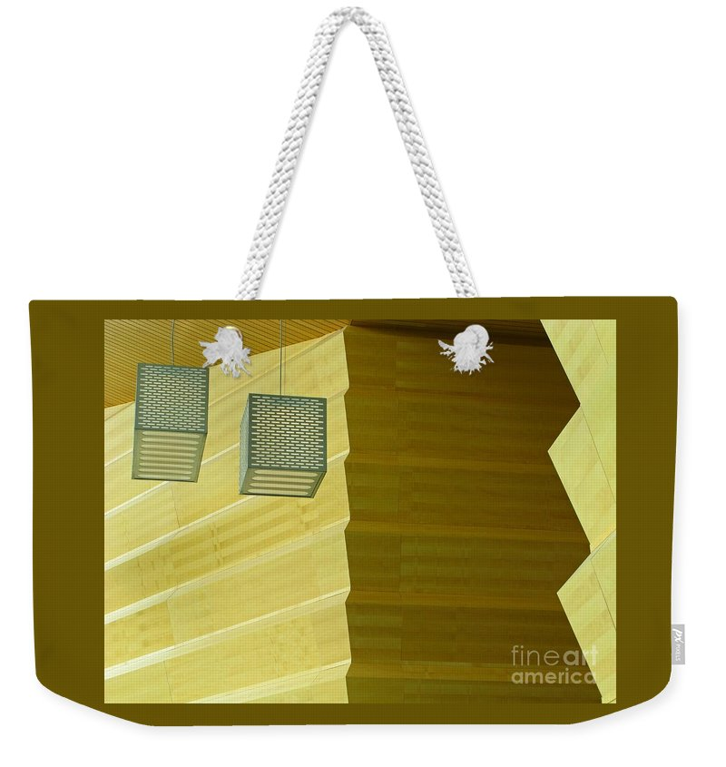 Zig-zag Weekender Tote Bag featuring the photograph Zig-zag by Ann Horn