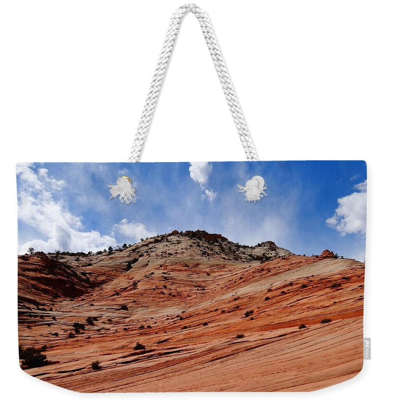 Zion National Park Weekender Tote Bag featuring the photograph Zion National Park by Dan Sproul