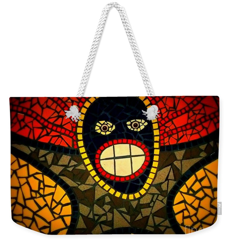 Weekender Tote Bag featuring the photograph Zulu Man In Lomo by Kelly Awad