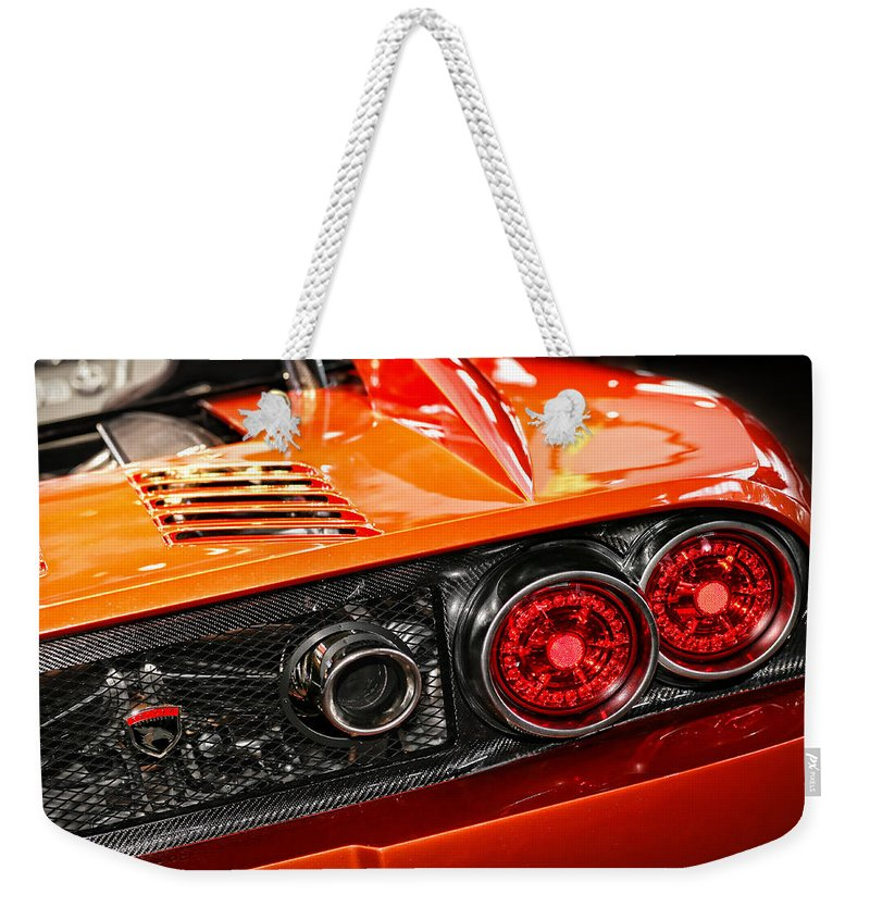 2012 Weekender Tote Bag featuring the photograph 2012 Falcon Motor Sports F7 Series 1 by Gordon Dean II