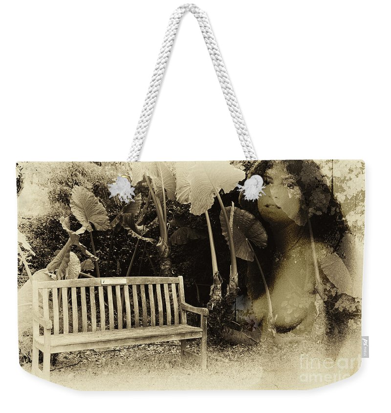 Garden Weekender Tote Bag featuring the photograph A Trip Through Time by Madeline Ellis