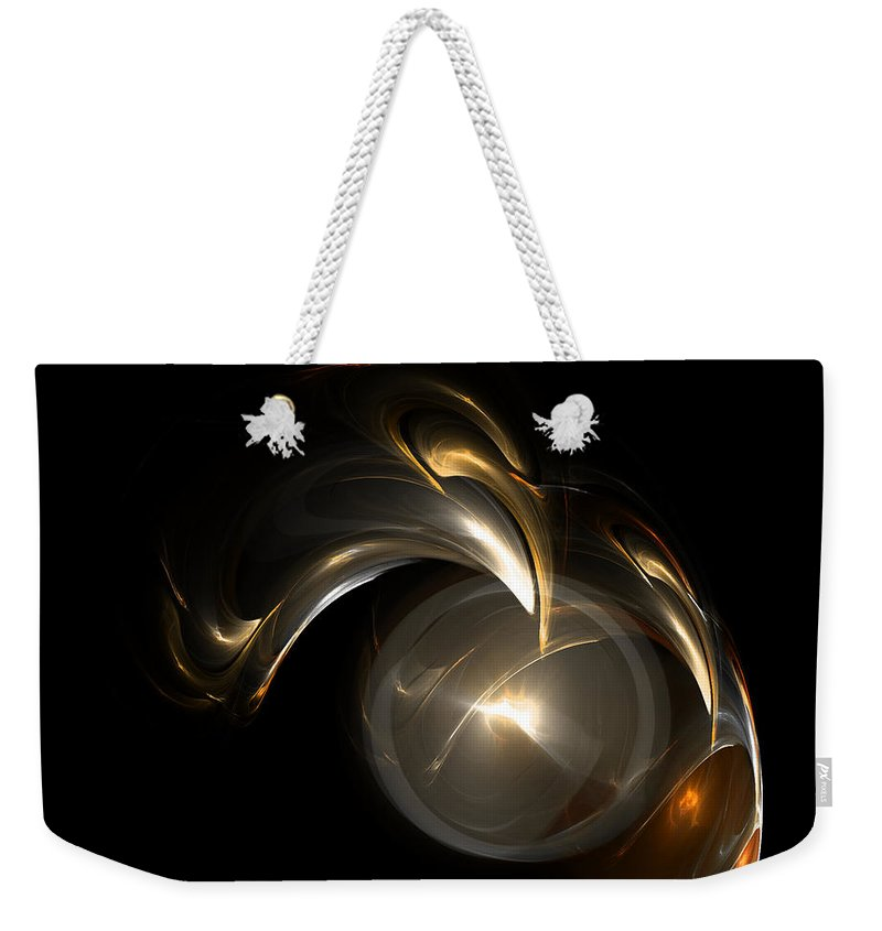 Fractal Digital Art Weekender Tote Bag featuring the photograph Abstract 110 by Mike Nellums