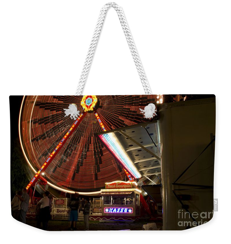 Amusement Park Weekender Tote Bag featuring the photograph Amusement Park by Mats Silvan