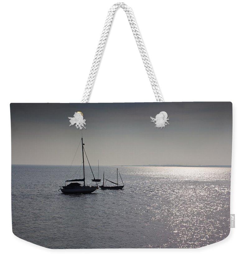 Leigh On Sea Weekender Tote Bags