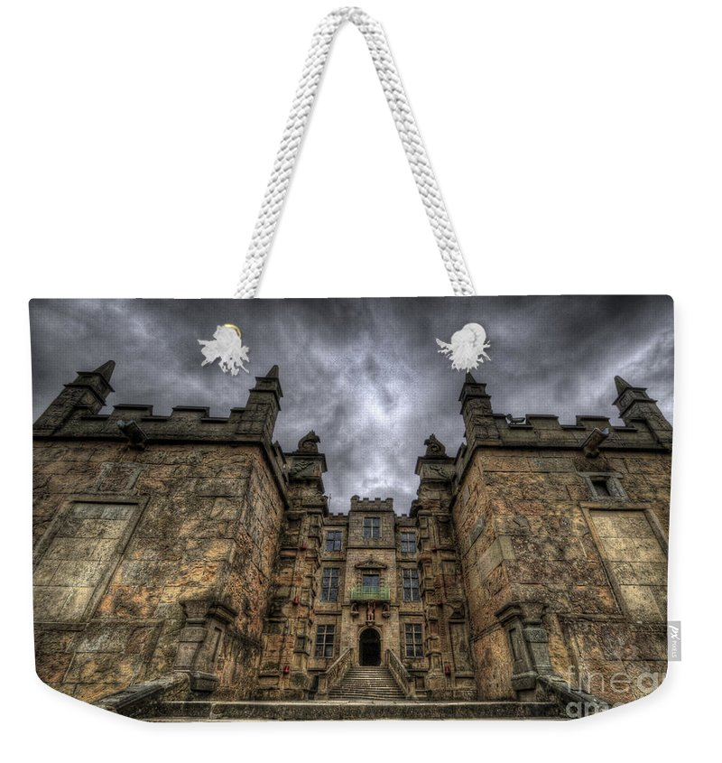 Bolsover Castle Weekender Tote Bag featuring the photograph Bolsover Castle by Yhun Suarez