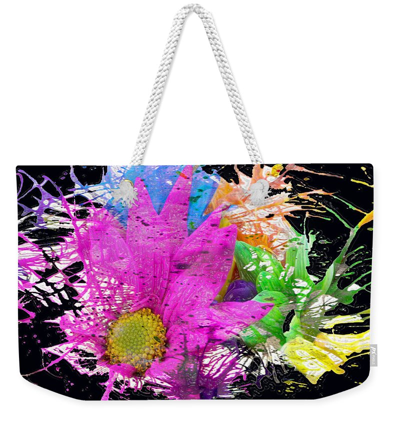 Jerry Cordeiro Weekender Tote Bag featuring the photograph Boom Bloom by The Artist Project