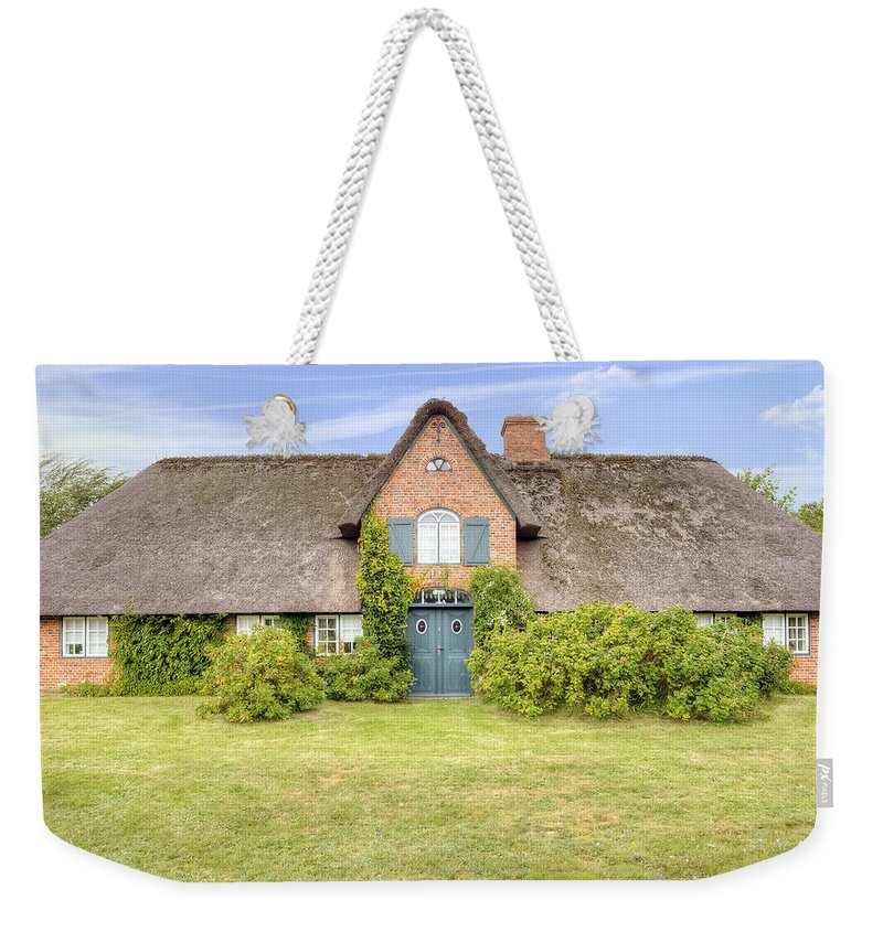 Frisian House Weekender Tote Bag featuring the photograph Braderup - Sylt by Joana Kruse