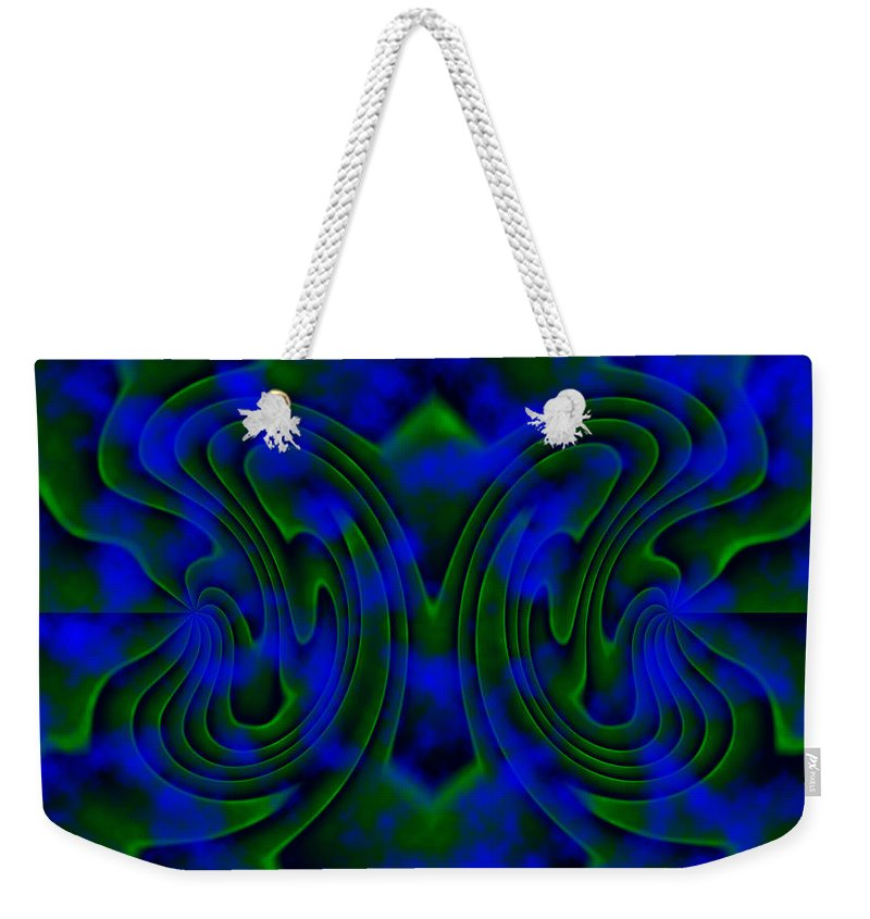 Butterfly Weekender Tote Bag featuring the painting Butterfly by Christopher Gaston