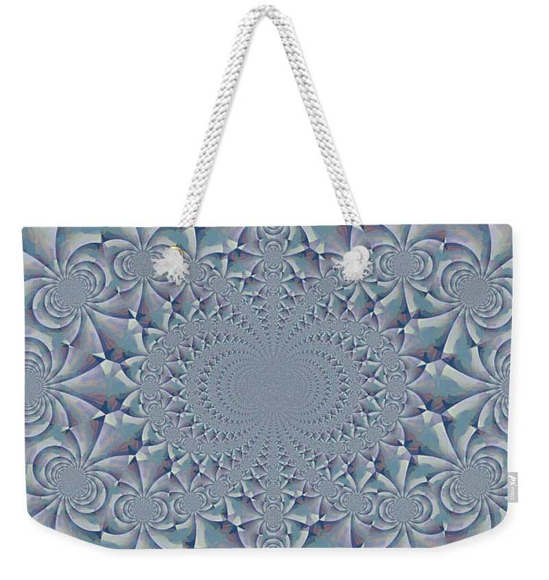 Kaleidoscope Weekender Tote Bag featuring the photograph Calm by Heidi Smith
