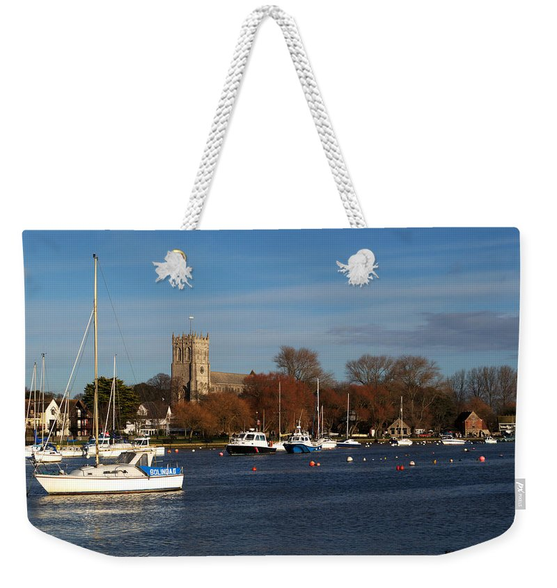 Christchurch Weekender Tote Bag featuring the photograph Christchurch by Chris Day