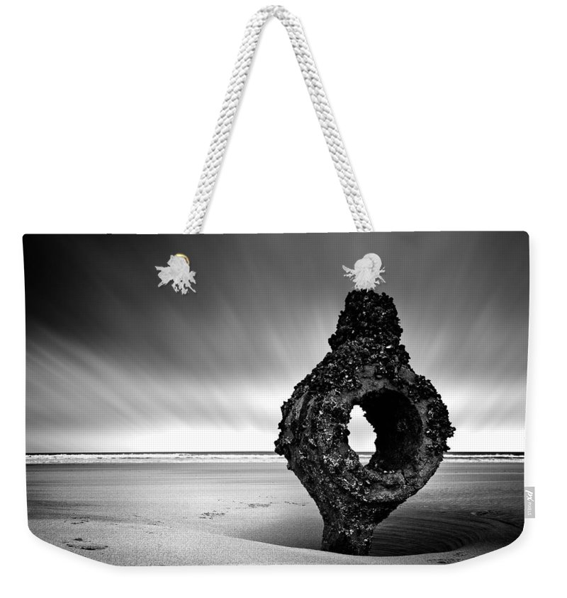 Bay Weekender Tote Bag featuring the photograph Coastline by Svetlana Sewell