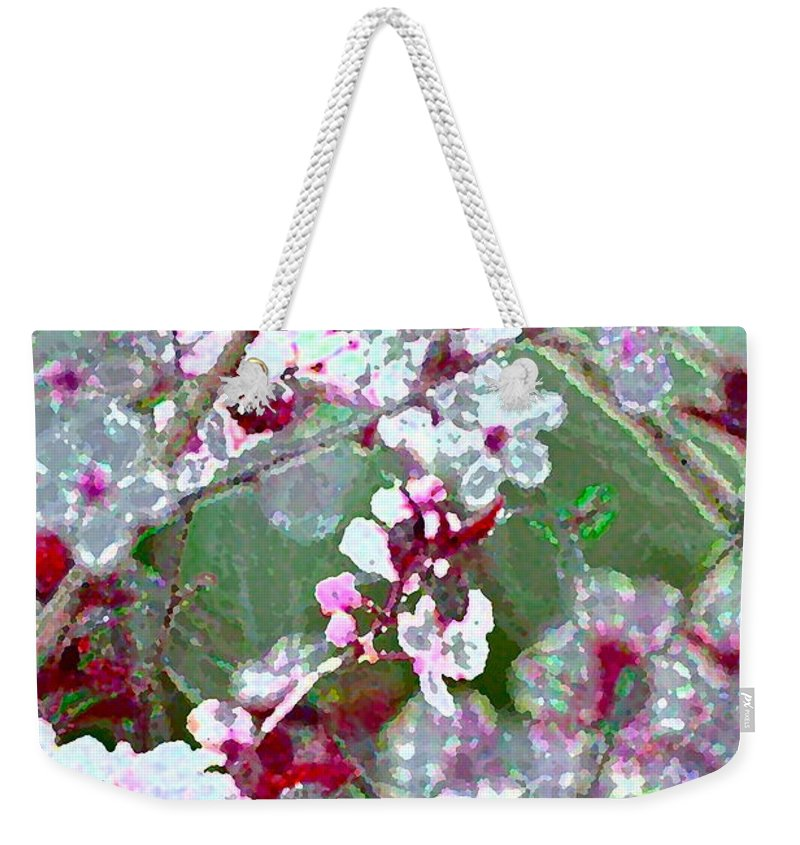 Tree Weekender Tote Bag featuring the photograph Color 59 by Pamela Cooper