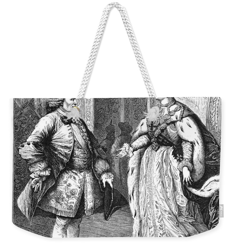 1773 Weekender Tote Bag featuring the photograph Denis Diderot (1713-1784) by Granger
