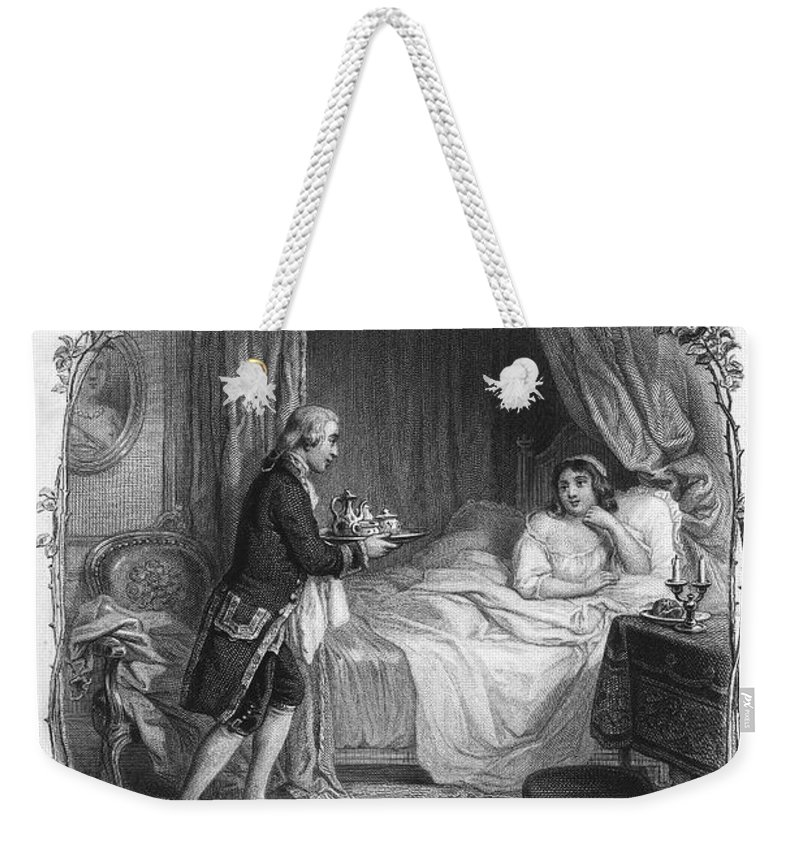 18th Century Weekender Tote Bag featuring the photograph Dining, 19th Century by Granger