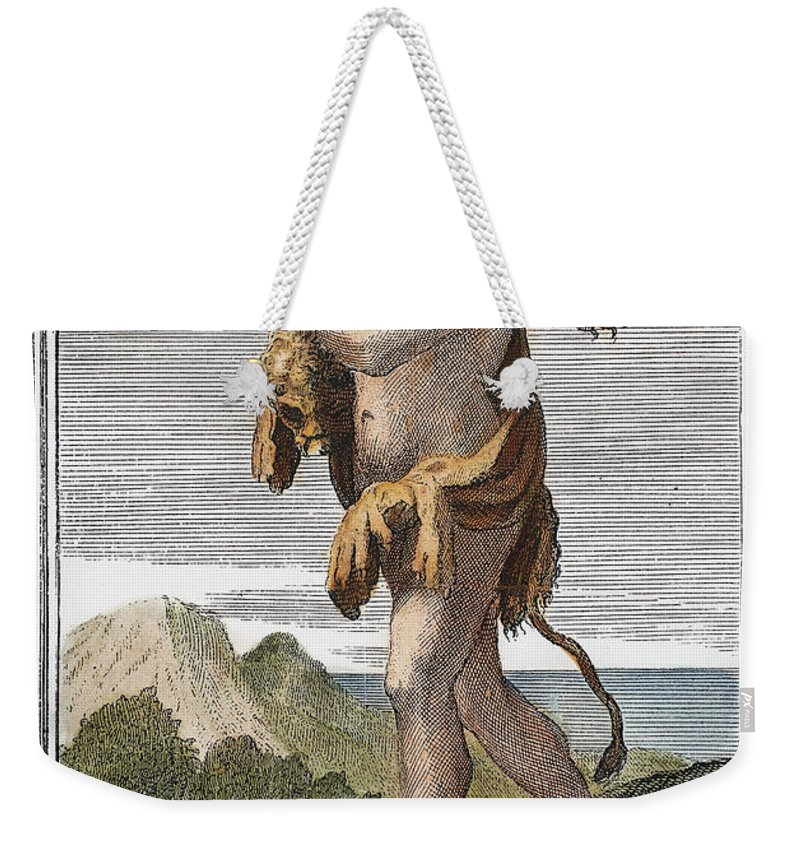 1723 Weekender Tote Bag featuring the photograph Double Aulos by Granger