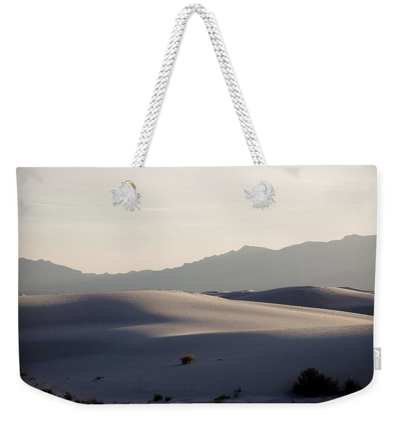 New Mexico Weekender Tote Bag featuring the photograph Dunes 4 by Sean Wray