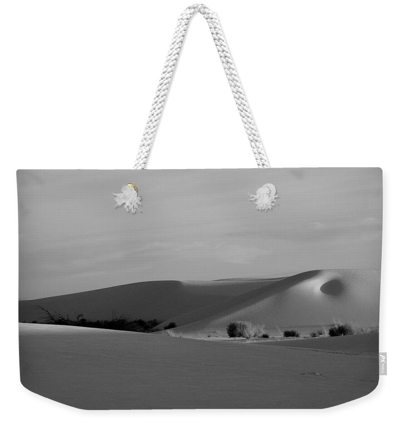 New Mexico Weekender Tote Bag featuring the photograph Dunes 6 by Sean Wray