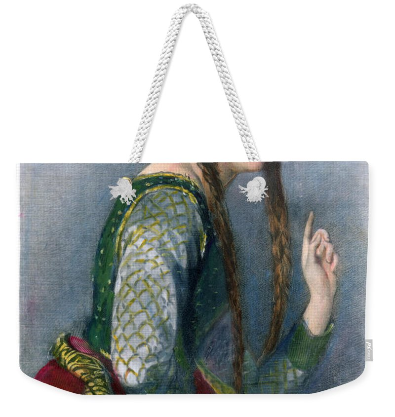 12th Century Weekender Tote Bag featuring the photograph Eleanor Of Aquitaine by Granger