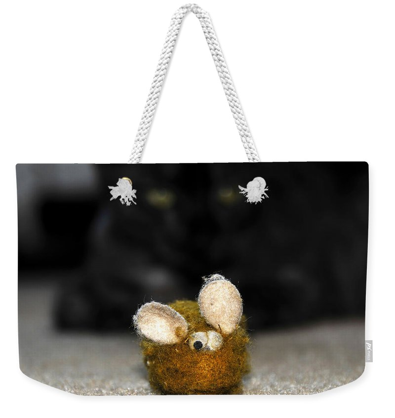 Fine Art Photography Weekender Tote Bag featuring the photograph Eye On The Prize by David Lee Thompson