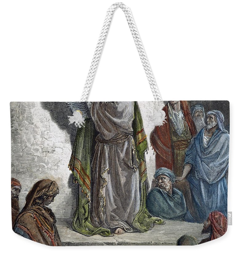 Decalogue Weekender Tote Bag featuring the photograph Ezra by Granger