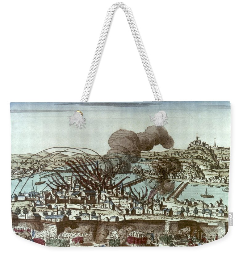 1793 Weekender Tote Bag featuring the photograph French Revolution, 1793 by Granger