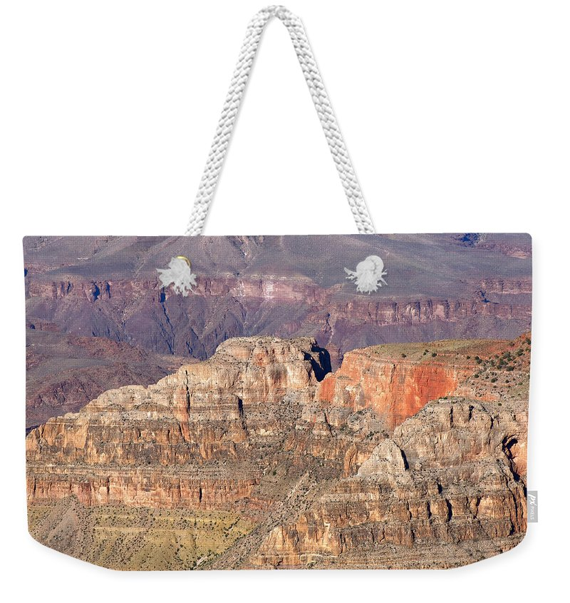 Grand Canyon Weekender Tote Bag featuring the photograph Grand Canyon View by Julie Niemela