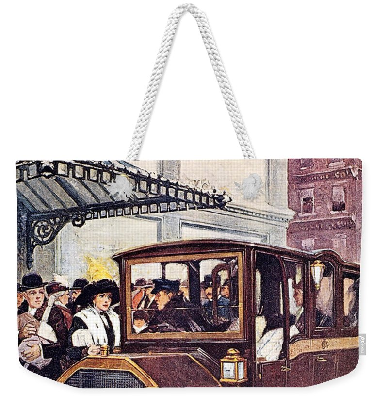 1913 Weekender Tote Bag featuring the photograph Harpers Weekly, 1913 by Granger