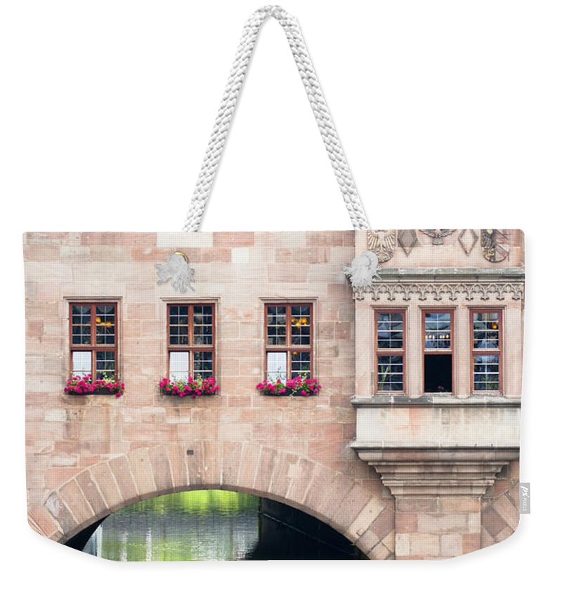 Bavaria Weekender Tote Bag featuring the photograph Heilig Geist Spital by Andrew Michael