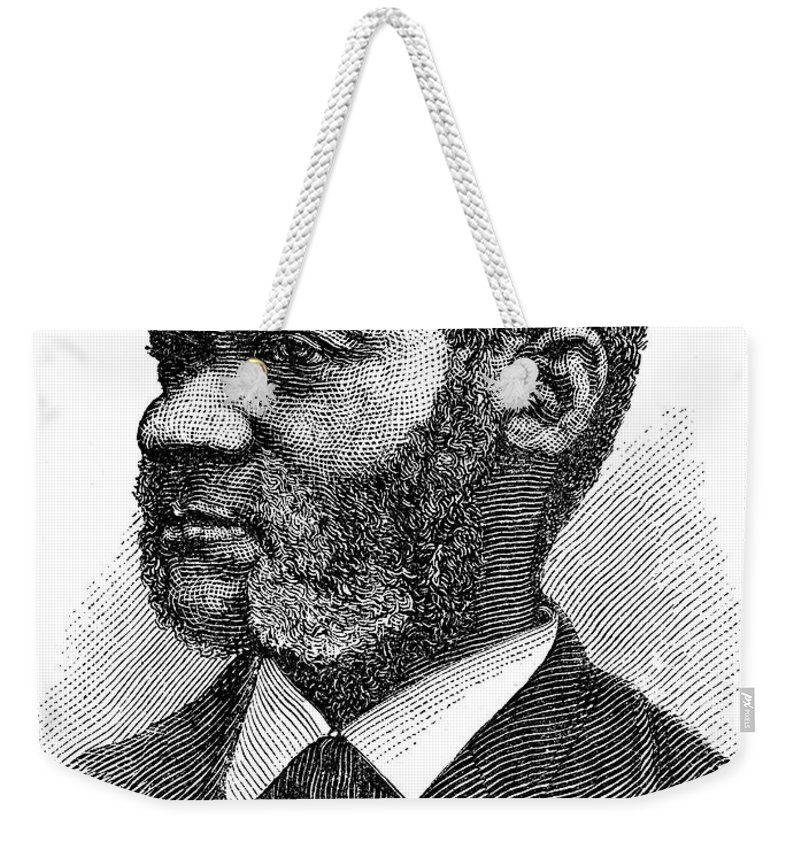 19th Century Weekender Tote Bag featuring the photograph Henry Highland Garnet by Granger
