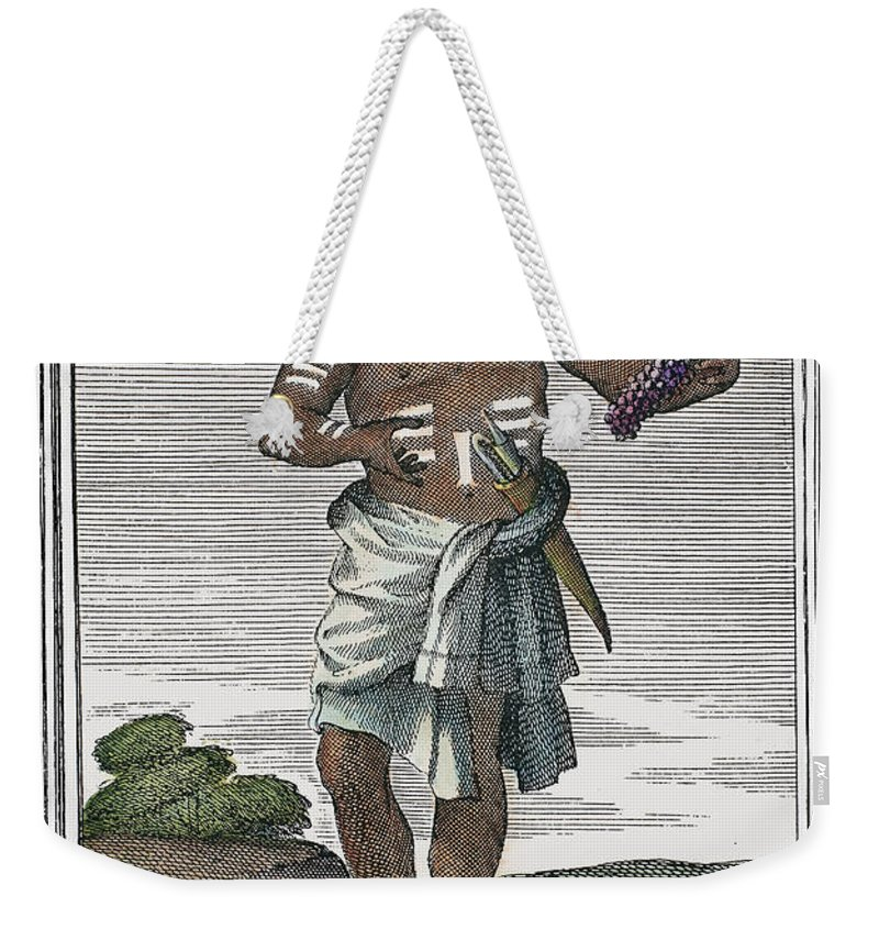 1723 Weekender Tote Bag featuring the photograph Indian Percussive Rattle by Granger