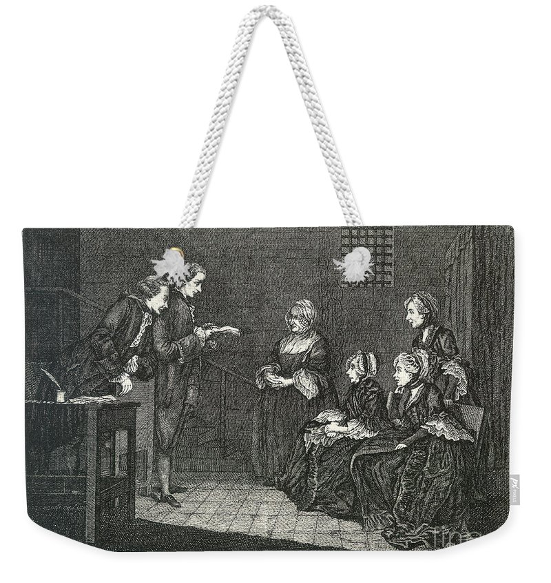 18th Century Weekender Tote Bag featuring the photograph Jean Calas (1698-1762) by Granger
