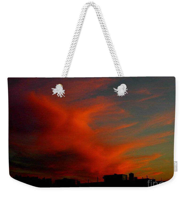 Sunsets Weekender Tote Bag featuring the photograph June 29 2010 1 by Mark Gilman