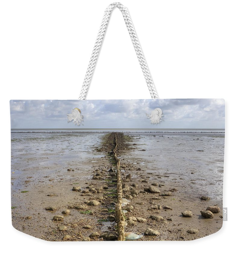 Wadden Sea Weekender Tote Bag featuring the photograph Keitum - Sylt by Joana Kruse