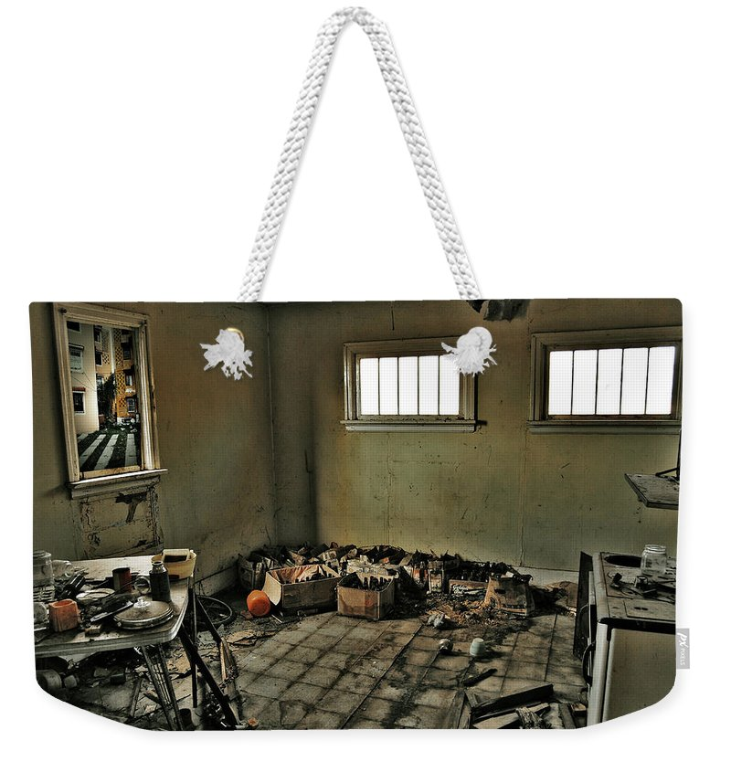 Photographer Weekender Tote Bag featuring the photograph Kitchen Of Capture by The Artist Project