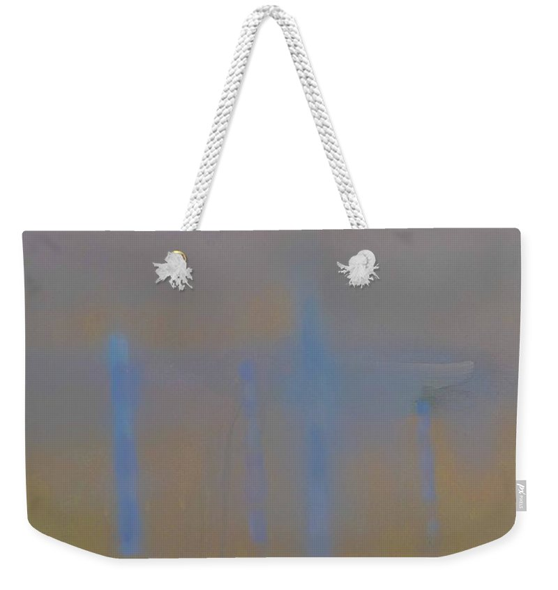 Venice Weekender Tote Bag featuring the painting Lagoon by Charles Stuart