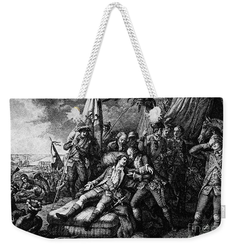 1759 Weekender Tote Bag featuring the photograph Marquis De Montcalm by Granger