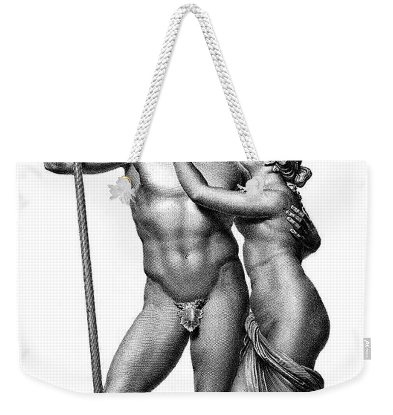 Ancient Weekender Tote Bag featuring the photograph Mars And Venus by Granger