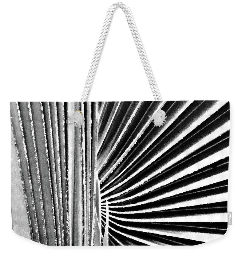 Palmetto Weekender Tote Bag featuring the digital art Palmetto by Lizi Beard-Ward