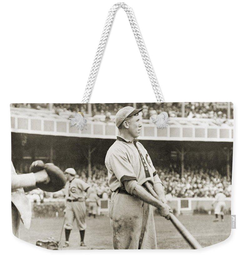 1908 Weekender Tote Bag featuring the photograph Patrick Joseph Moran by Granger