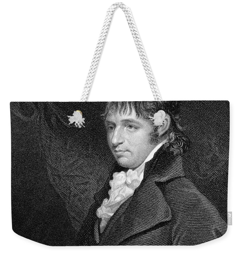 18th Century Weekender Tote Bag featuring the photograph Richard Porson (1759-1808) by Granger