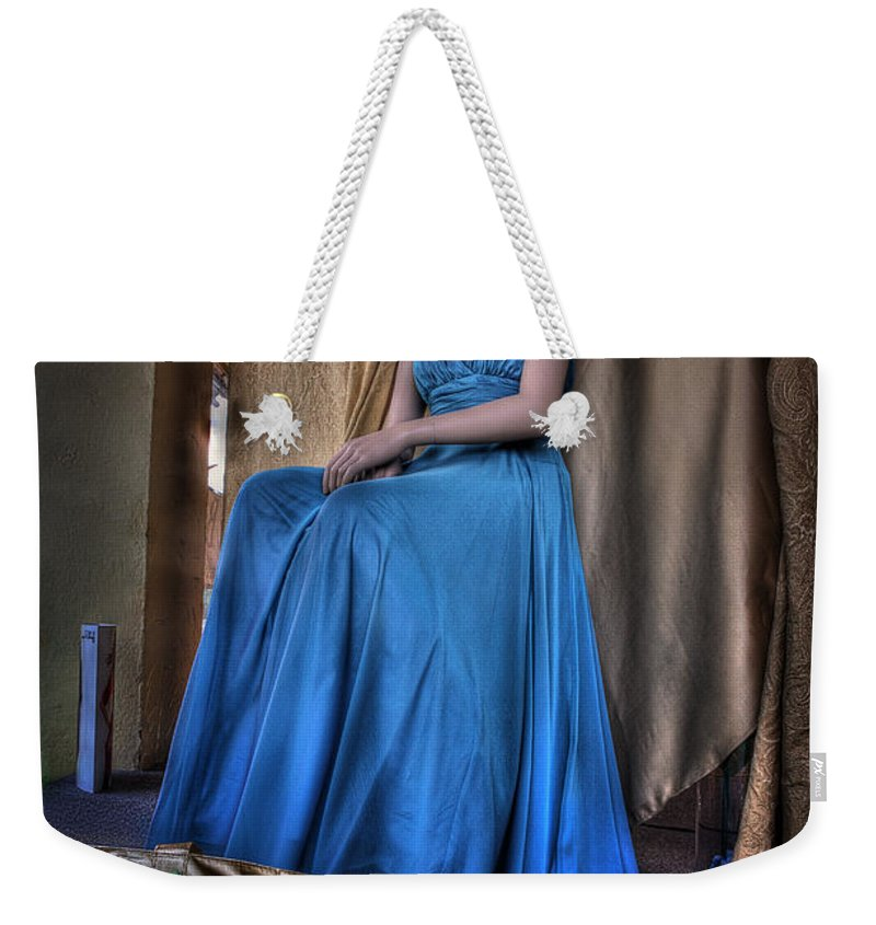 Acrylic Prints Weekender Tote Bag featuring the photograph Shabby Genteel by John Herzog