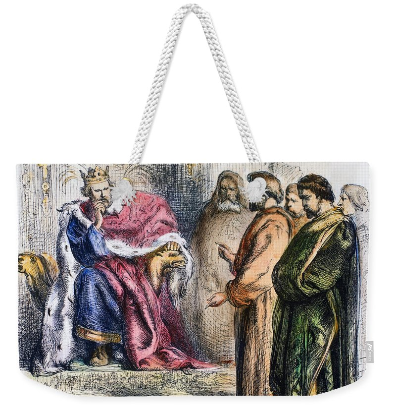 13th Century Weekender Tote Bag featuring the photograph Shakespeare: King John by Granger