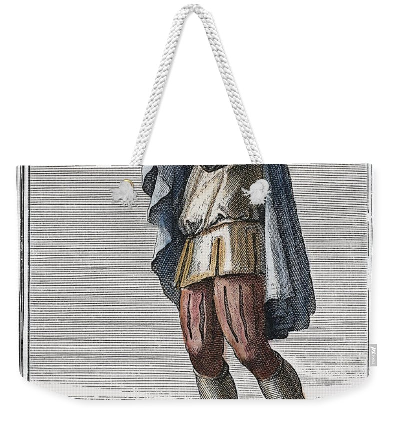 1723 Weekender Tote Bag featuring the photograph Slide Trumpet, 1723 by Granger