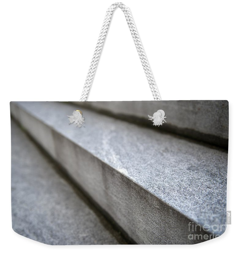 Stair Weekender Tote Bag featuring the photograph Stairs by Mats Silvan