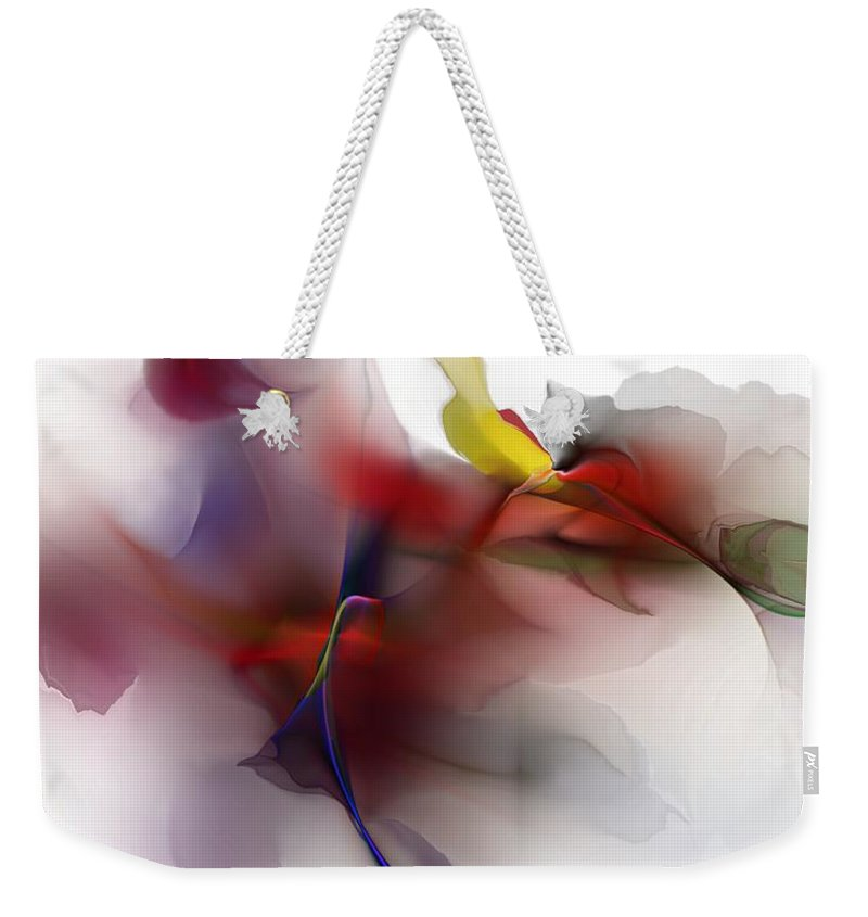 Fine Art Weekender Tote Bag featuring the digital art Still Life by David Lane