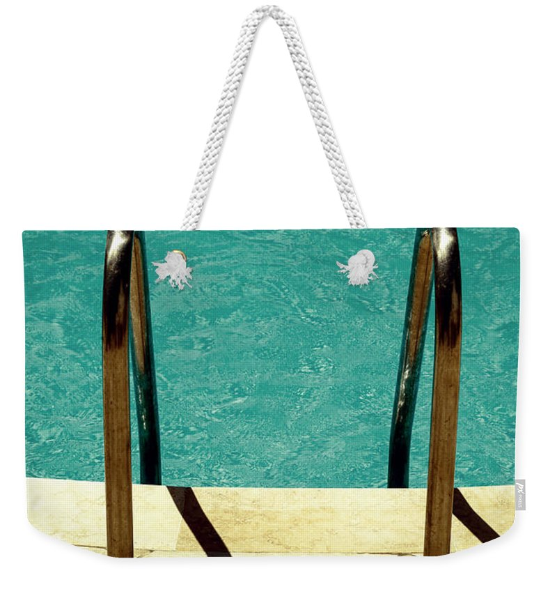 Pool Weekender Tote Bag featuring the photograph Swimming Pool by Joana Kruse