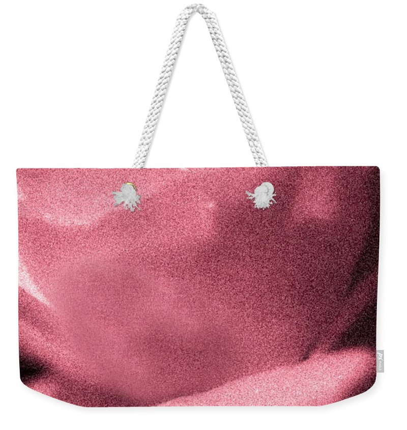 Rose Weekender Tote Bag featuring the photograph The One by Kim Henderson