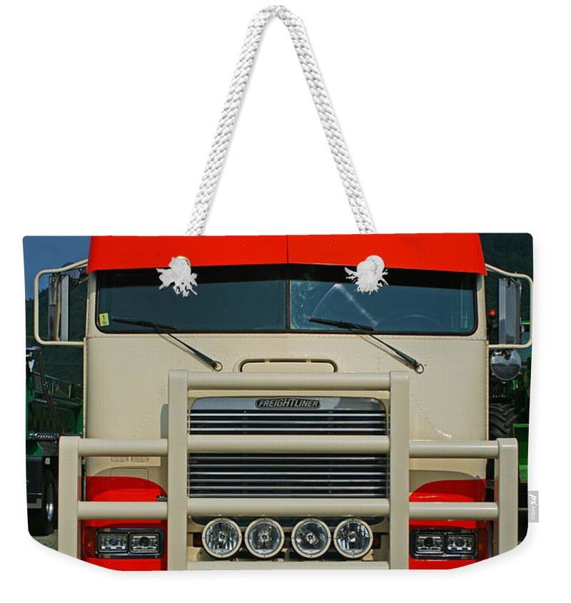 Trucks Weekender Tote Bag featuring the photograph Tr0272-12 by Randy Harris